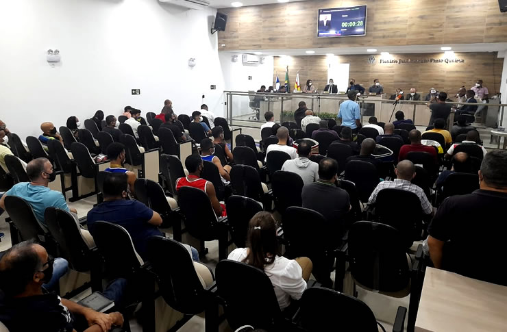 Com presença de desportistas e secretário, Câmara debate criação do Conselho Municipal de Esportes